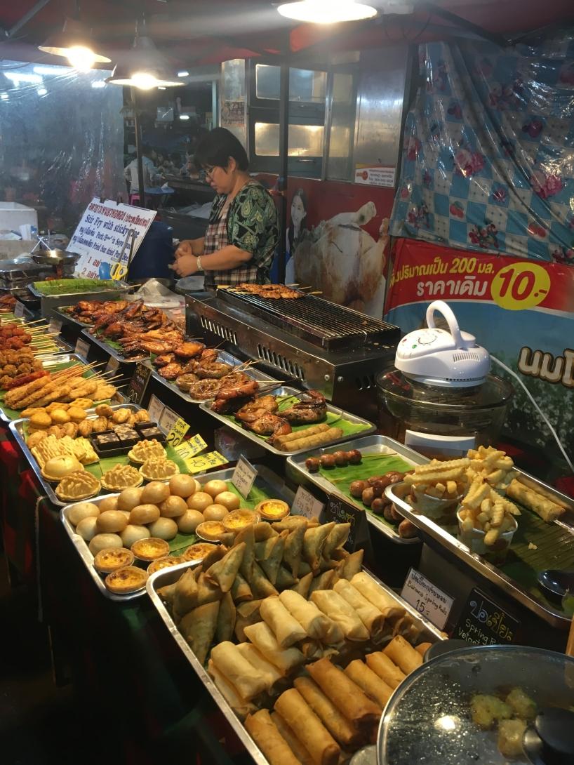 Night Bazaar cuisine